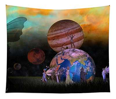 Mother Earth Series Plate6 Tapestry