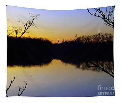 Mother Natures Glow Tapestry