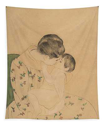 Mother's Kiss Tapestry