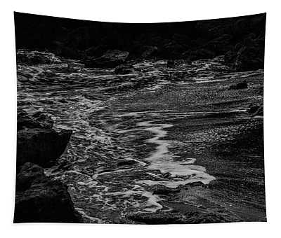 Motion In Black And White Tapestry
