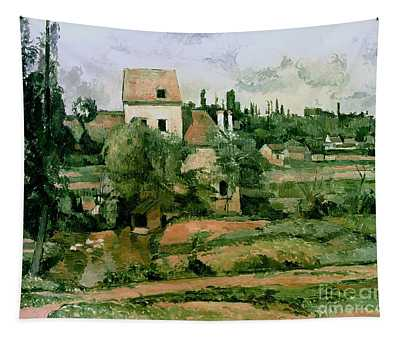 Moulin De La Couleuvre At Pontoise Tapestry