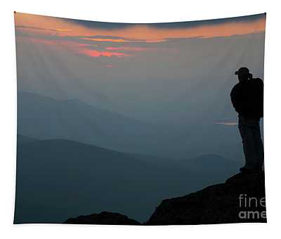 Mount Clay Sunset - White Mountains, New Hampshire Tapestry