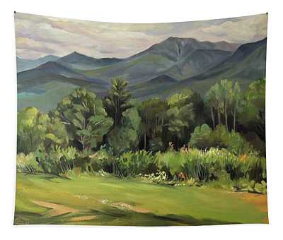 Mount Lafayette From Sugar Hill New Hampshire Tapestry