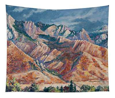 Mount Olympus In Autumn  Tapestry