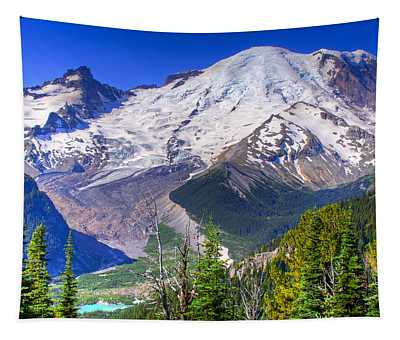 Mount Rainier IIi Tapestry