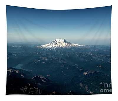 Tapestry featuring the photograph Mount Rainier  by Mae Wertz