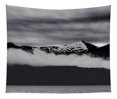 Mountain Contrast Tapestry