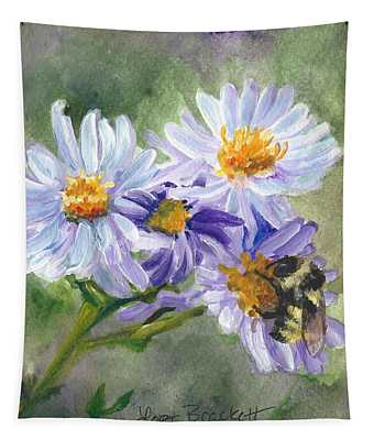 Mountain Flowers Tapestry