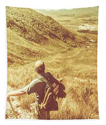 Mountain Hiking Australia Tapestry