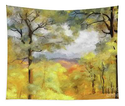 Mountain Morning Tapestry