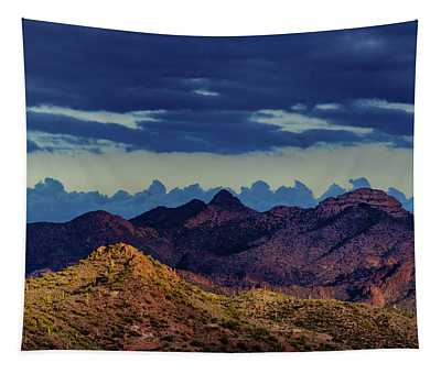 Mountain Shadow Tapestry