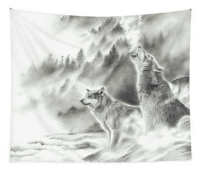Mountain Spirits Tapestry