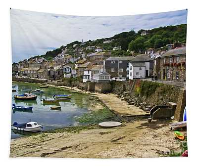 Mousehole Harbour, Cornwall Tapestry