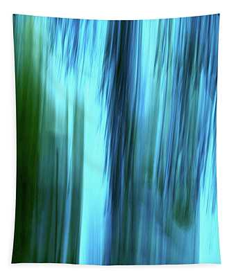 Moving Trees 37-15portrait Format Tapestry