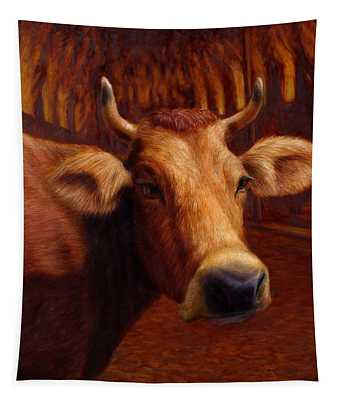 Mrs. O'leary's Cow Tapestry