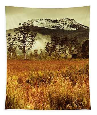Mt Gell. Tasmania National Park Of Franklin Gordon Tapestry