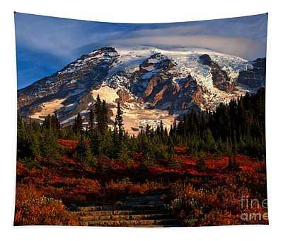 Mt. Rainier Paradise Morning Tapestry