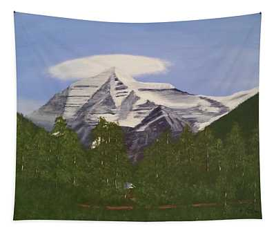 Mt. Robson, Bc Tapestry
