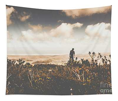 Mt Zeehan Backpacker  Tapestry