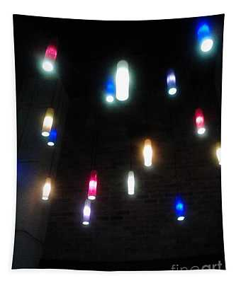 Multi Colored Lights Tapestry