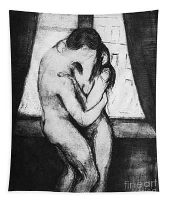 The Kiss, 1895 Tapestry
