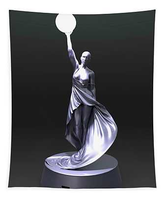 Muse Of Light Tapestry