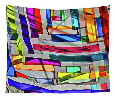 Museum Atrium Art Abstract Tapestry
