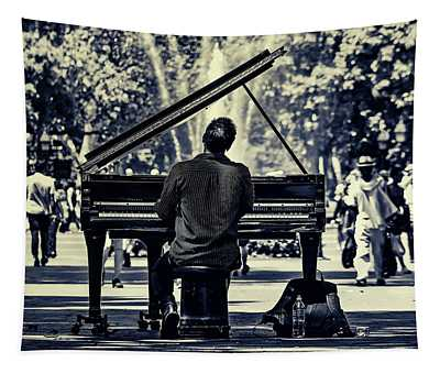 Music In The Park Tapestry