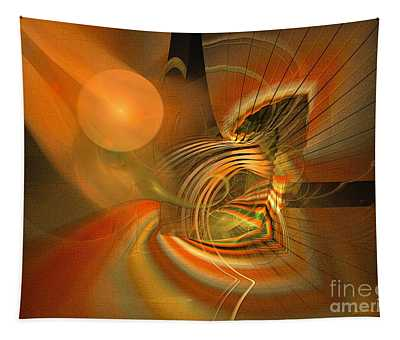 Mutual Respect - Abstract Art Tapestry
