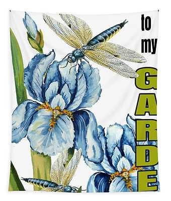 My Garden-jp2829 Tapestry