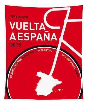 My Vuelta A Espana Minimal Poster 2015 Tapestry