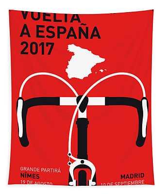 My Vuelta A Espana Minimal Poster 2017 Tapestry