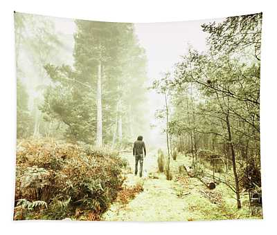 Mysterious Trail Tapestry