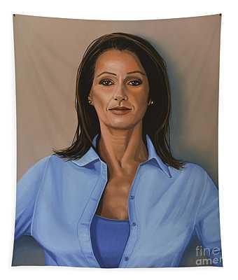 Nadia Comaneci Tapestry