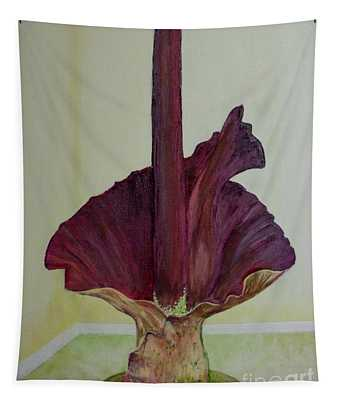 Voodoo Lily 1a Tapestry