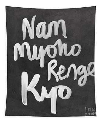 Nam Myoho Renge Kyo Tapestry