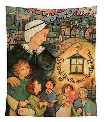 Nano Nagle, Foundress Of The Sisters Of The Presentation Tapestry
