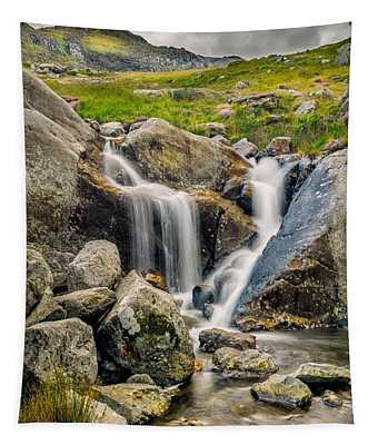 Nant Bochlwyd Waterfall Tapestry
