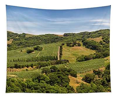 Napa Valley California Panoramic Tapestry