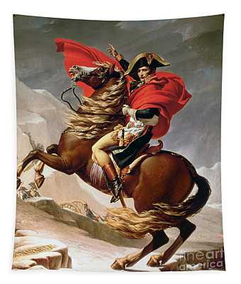 Napoleon Crossing The Alps Tapestry