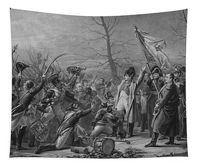 Napoleon Returns From Elba Tapestry
