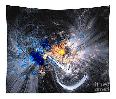 Nasa Coronal Loops Over A Sunspot Group Tapestry