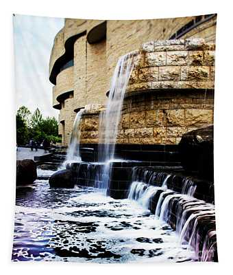 Native American Waterfalls Tapestry