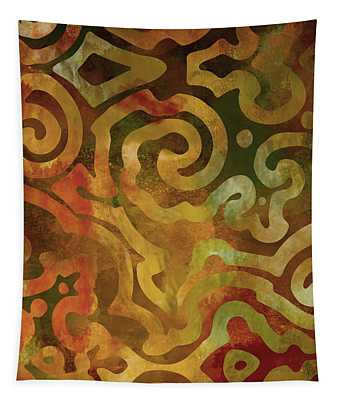 Native Elements Earth Tones Tapestry