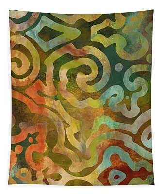 Native Elements Multicolor Tapestry