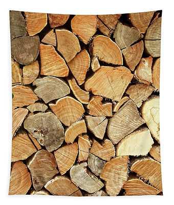 Natural Wood Tapestry
