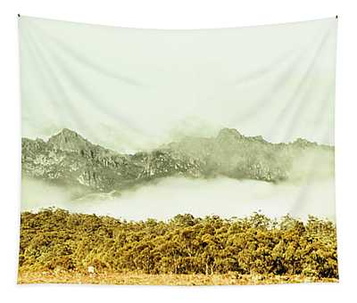 Natural Mountain Beauty Tapestry