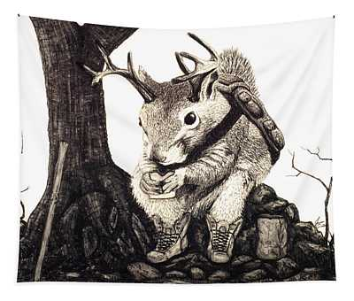Nature Hike Tapestry