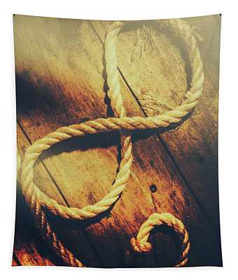Nautical Infinity Tapestry