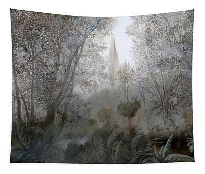 Nebbia Nel Bosco Tapestry